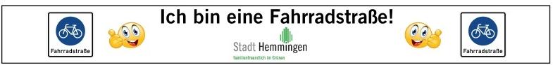 Ich bin eine Fahrradstraße©Stadt Hemmingen