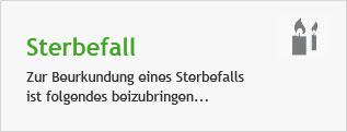 Lebenslage Sterbefall©Stadt Hemmingen